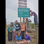The van broke down half way in Buford, Wyoming, The Smallest Town in America!!