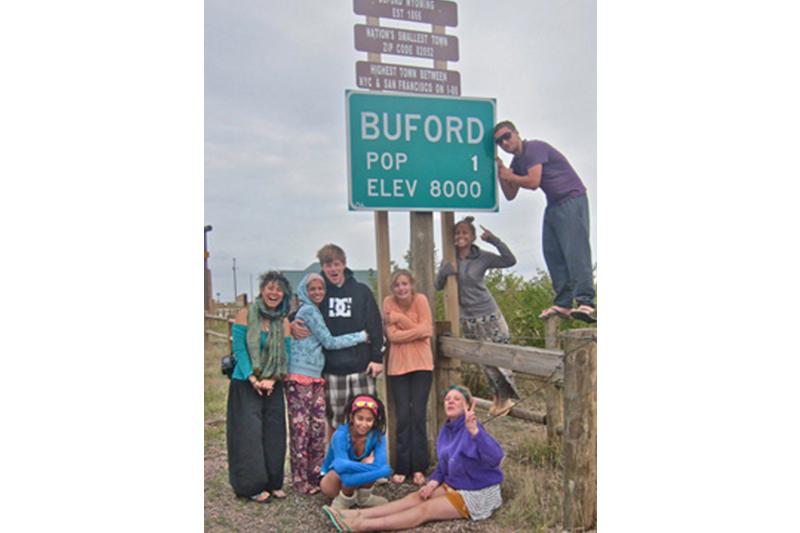 The Van Broke Down Half Way In Buford Wyoming Smallest Town America