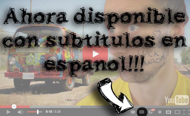el nuevo video está disponible con subtítulos en español! ver auqi