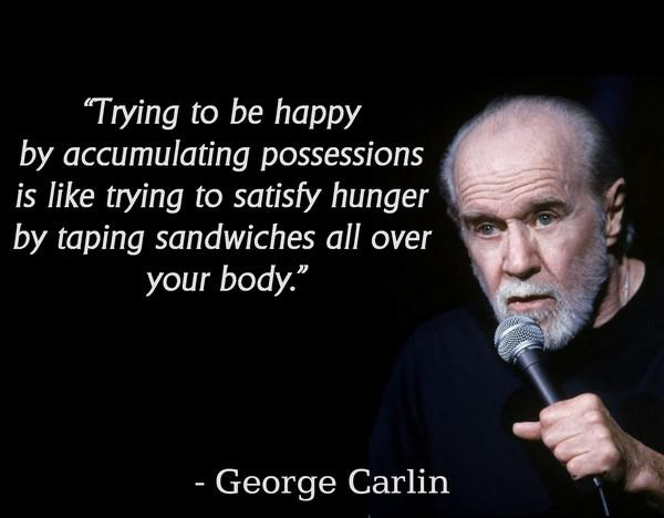 "George Carlin on ""Stuff"""