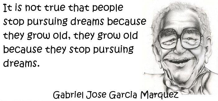 Gabriel Jose Garcia Marquez - dreams