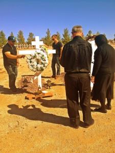Visiting Jims grave