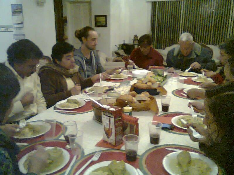 Christmas Dinner in Mexico