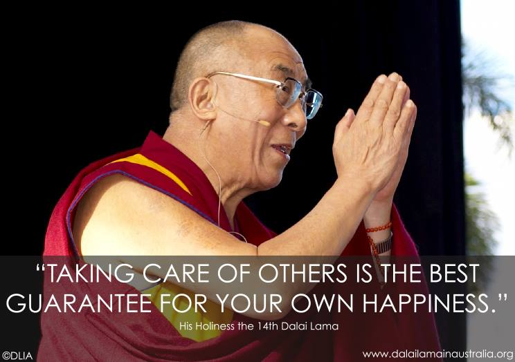 care of others happiness