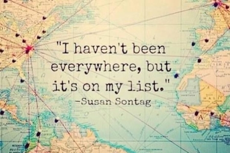 I haven't been everywhere but it's on my list.