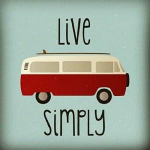 live simply vw kombi