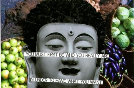 You must first be who you really are..
