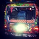 hippie van dont worry be happy