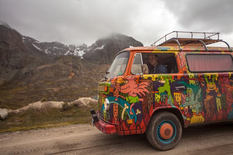 Хиппи фургон