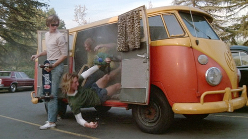 Image result for hippies in a van photo