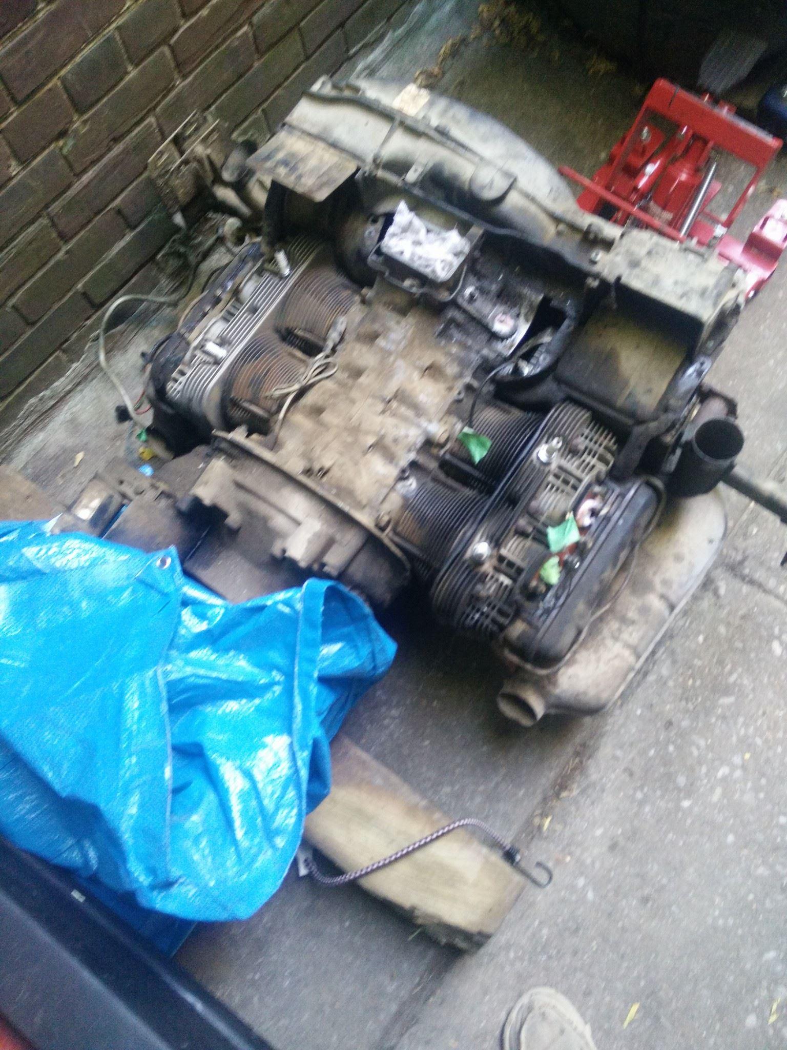 Hippie Van Engine Rebuild   againHippie Van Man